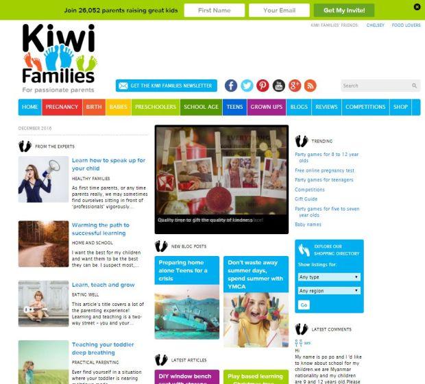 kiwifamilies