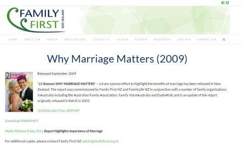 marriagematters