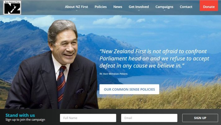 NZ FIRST Fiscal & Social Conservative Political Party