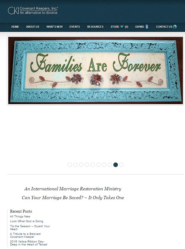covenantkeepershomepage