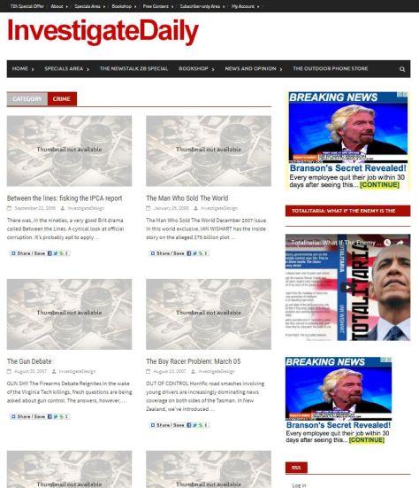 investigatecrime