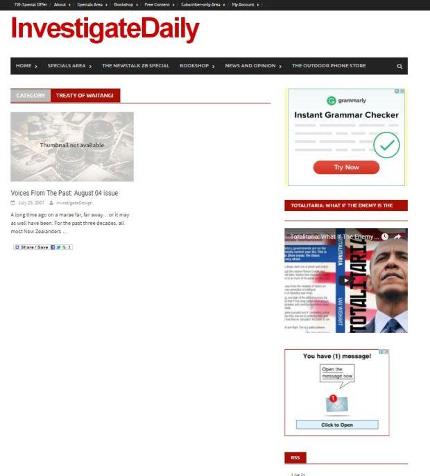 investigatetreatywaitangi